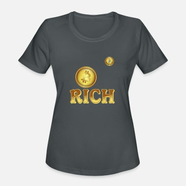 Bitcoin-Rich - Women's Sport T-Shirt