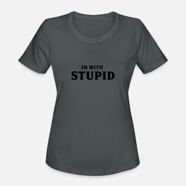 Plain plain stupid - Women's Sport T-Shirt