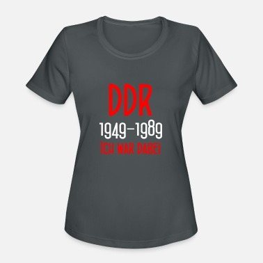 East Berlin DDR 1949-1989 Ich war dabei - GDR - East Berlin - Women's Sport T-Shirt