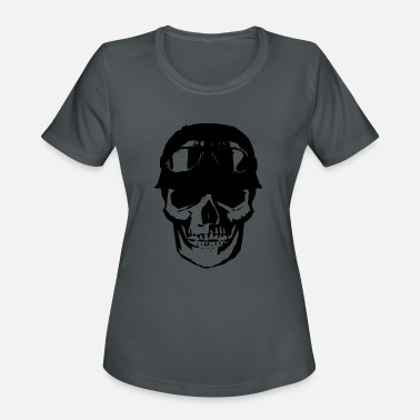 Skull Motorcycle Club - Women's Sport T-Shirt