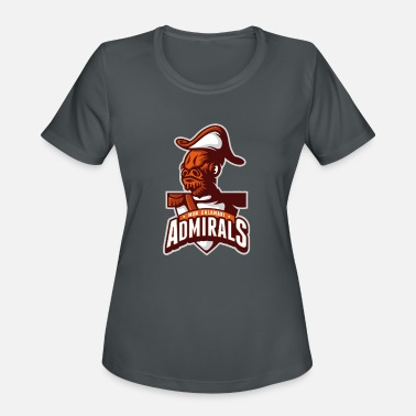 Calamari Mon Calamari Admirals - Women's Moisture Wicking Performance T-Shirt