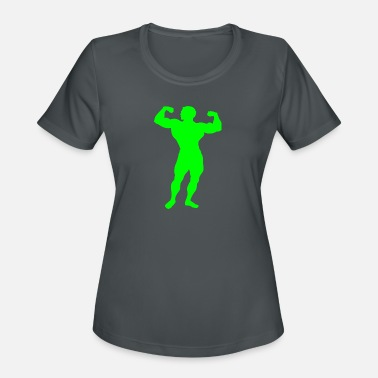 Abs Sports Wear Gains - Women's Moisture Wicking Performance T-Shirt