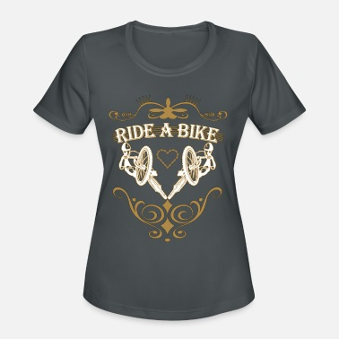 Ride A Bike Ride a bike - Women's Sport T-Shirt