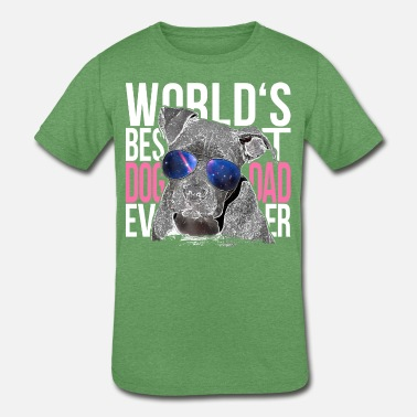 b40eb9c7 Cute-fashion-pet Pittbull Lover World's Best Dog Dad Ever