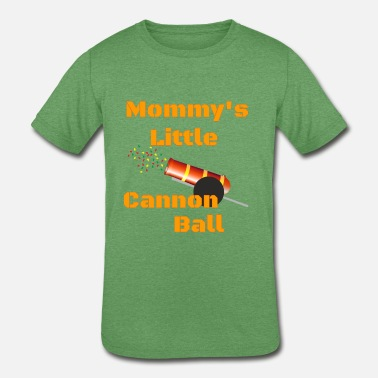 Mommys Little Mommy s little - Kids' Tri-Blend T-Shirt