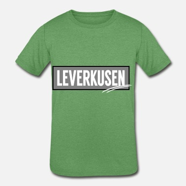 Leverkusen Leverkusen t shirt present to travel in Germany - Kids' Tri-Blend T-Shirt