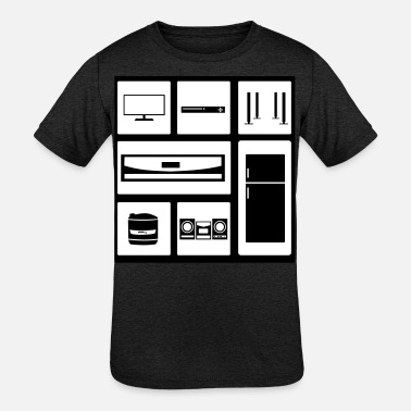 Theater Household Elektronic Equipment - Kids' Tri-Blend T-Shirt