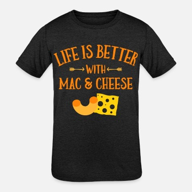 Mac Daddy Youth T-Shirts Kids Funny Graphic T-Shirts Mac and Cheese Shirts
