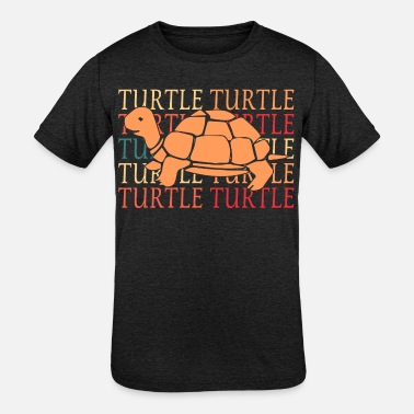 Sea Turtle reptile sea turtle gift animal - Kids' Tri-Blend T-Shirt