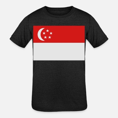 Singapore - Kids' Tri-Blend T-Shirt