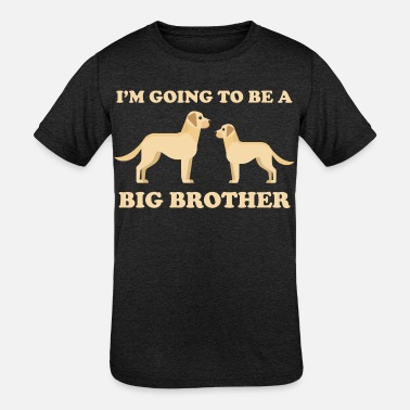 Big Brother Dog I'm Going To Be A Big Brother Dog - Kids' Tri-Blend T-Shirt