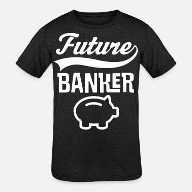 Banker Future Banker In Training - Kids' Tri-Blend T-Shirt