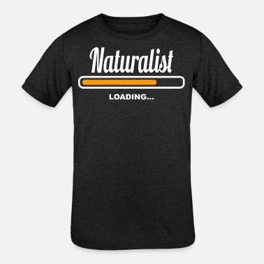 Naturalistas Naturalist Loading - Kids' Tri-Blend T-Shirt