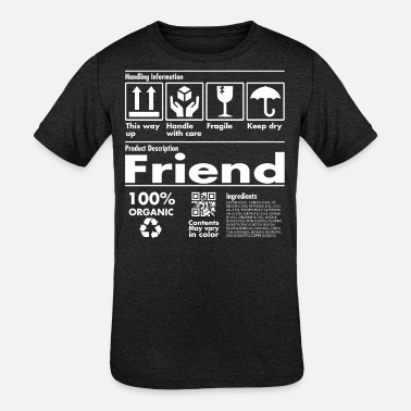 Amazing Product Description Tee - Friend Edition - Kids' Tri-Blend T-Shirt