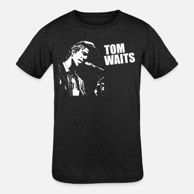 Tom Tom Waits - Kids' Tri-Blend T-Shirt