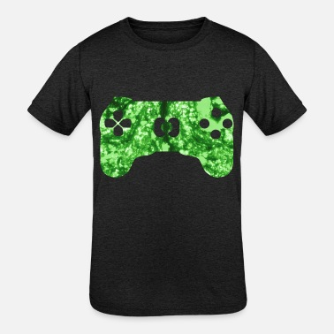 Gamer Funny quote saying gaming zone - Kids' Tri-Blend T-Shirt