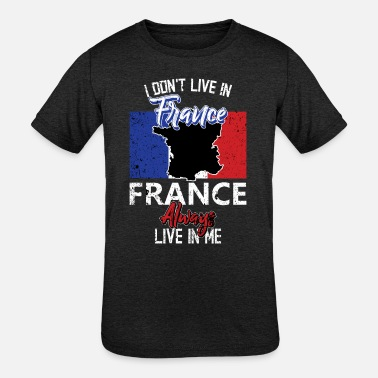 Quote France Cool Quote - Kids' Tri-Blend T-Shirt