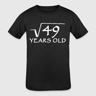 7 Year Old 7 - 7th Birthday - 7 year old - Kids' Tri-Blend T-Shirt