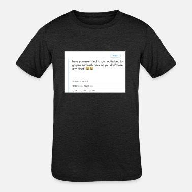131e1834 FUNNY REDDIT MEME! GIFT IDEA FOR MEME LOVERS. - Kids' Tri. Kids'  Tri-Blend T-Shirt