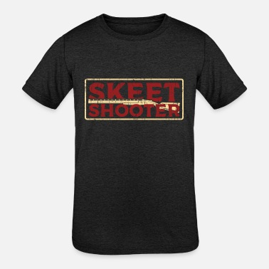 Skeet Shooting Skeet Shooting shooter - Kids' Tri-Blend T-Shirt