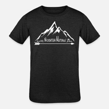 Mountains Rocky Mountain National Park Souvenir Mountain Vacation Travel Design - Kids' Tri-Blend T-Shirt