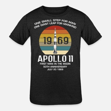 Scientology Apollo 11 Moon landing - Kids' Tri-Blend T-Shirt