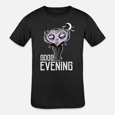 Good Evening Halloween - Good Evening Dracula - Kids' Tri-Blend T-Shirt