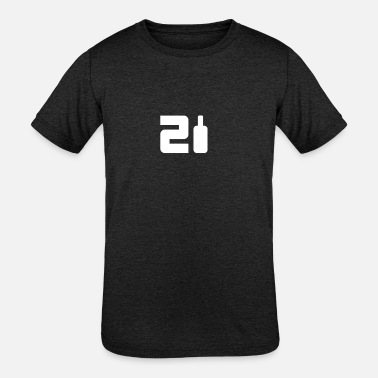 21st Birthday 21st Birthday - Kids' Tri-Blend T-Shirt