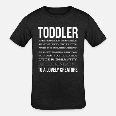 Toddler Motorcycle Toddler description - Kids' Tri-Blend T-Shirt