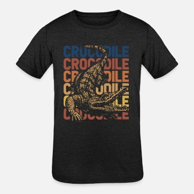 Crocodiles Crocodile - Kids' Tri-Blend T-Shirt