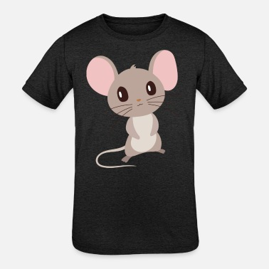 Mouse Mouse - Kids' Tri-Blend T-Shirt
