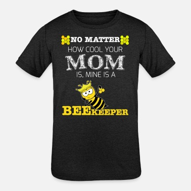 Beehive Kids T-Shirt gift - cool mom is a beekeeper - Kids' Tri-Blend T-Shirt