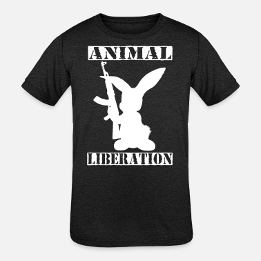 Animal Liberation Animal liberation - Kids' Tri-Blend T-Shirt
