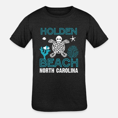 North Sea Sea Turtles Beach North Carolina - Kids' Tri-Blend T-Shirt