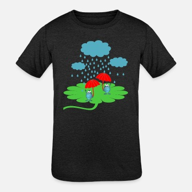 Two Color Rainy day - Kids' Tri-Blend T-Shirt