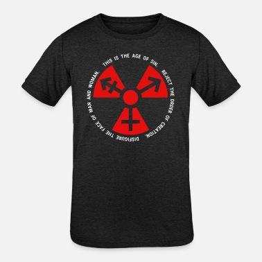 Sin Trans Radiation Age of Sin - Kids' Tri-Blend T-Shirt