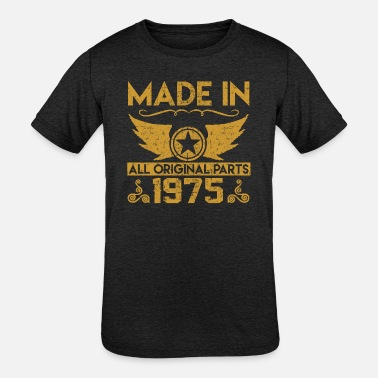 1975 made in 1975 33.png - Kids' Tri-Blend T-Shirt