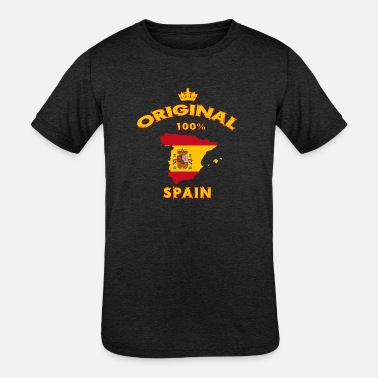 Spanish Spain 100% Original - Kids' Tri-Blend T-Shirt