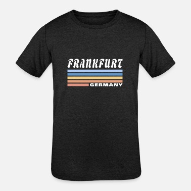 Hessen Frankfurt Germany / Gift Main Hessen - Kids' Tri-Blend T-Shirt