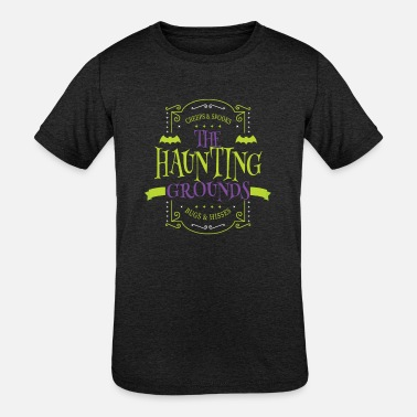 Gravestone Hunt - Kids' Tri-Blend T-Shirt