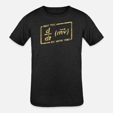 May The Force May The Force Equation - Kids' Tri-Blend T-Shirt