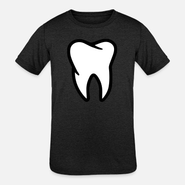 Tooth Tooth - Kids' Tri-Blend T-Shirt
