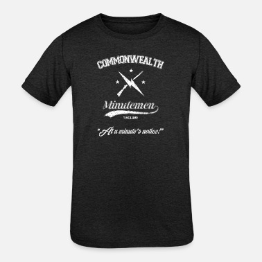 Commonwealth Commonwealth Minutemen - Kids' Tri-Blend T-Shirt