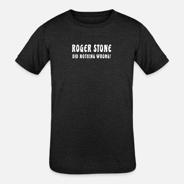 Roger Stone Tshirt, Political Satire Tshirt - Kids' Tri-Blend T-Shirt