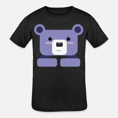 Mummy Bear Bear - Kids' Tri-Blend T-Shirt