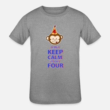 Four-year-old Funny Four year old - Kids' Tri-Blend T-Shirt