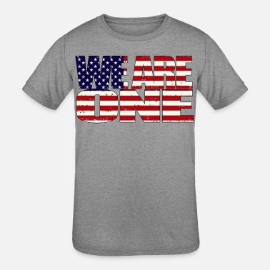 We are one America - Kids' Tri-Blend T-Shirt