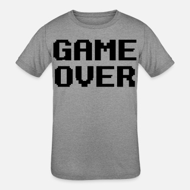 Game Over - Kids' Tri-Blend T-Shirt