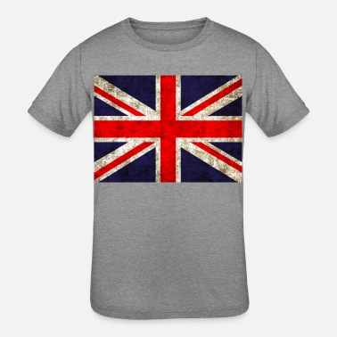 Manchester UK Flag - Kids' Tri-Blend T-Shirt