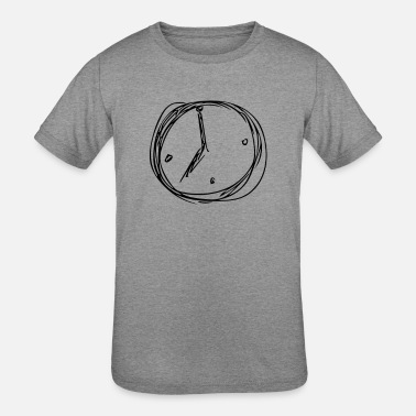 Clock clock - Kids' Tri-Blend T-Shirt